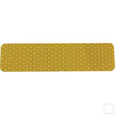 Reflectieplaat, geel productfoto