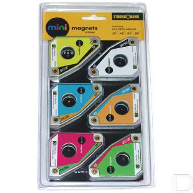 Magneetset mini 6stuks productfoto