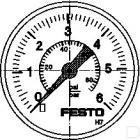 Manometer MA-40-6-G1/4-EN productfoto
