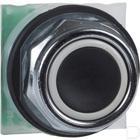 Drukknop NO+NC zwart 30mm productfoto