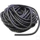 Spiraalband zwart 12mm productfoto