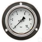 "Manometer Ø100mm 0-60bar 1/2"" inbouw Glycerine RVS productfoto"